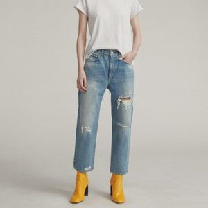 RAG & BONE Hell with Holes Boy Jeans Size 24
